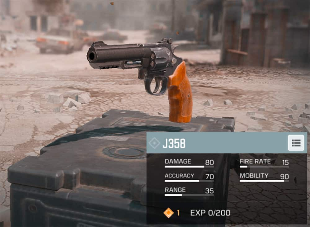 Best Pistols COD Mobile